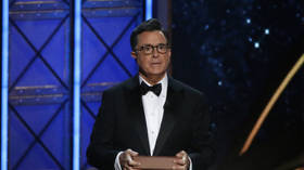 'Painful to watch': Colbert makes Twitter cringe with gushing Obama interview, telling him 'I just want to… drink you in'