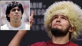 'Because of Maradona, millions of people love football': Khabib Nurmagomedov pens touching tribute to fallen idol Diego Maradona