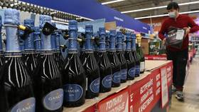 Pressure group 'Sober Russia' wants to ban booze sales over New Year holiday to ease pressure on health services