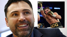 'What IS he smoking?' Boxing great De La Hoya DERIDED after claiming Golovkin would be 'EASY' fight - TWELVE YEARS after retiring