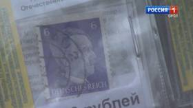 Russian prosecutors intervene after newspaper kiosks found selling souvenir Hitler stamps in city occupied by Nazis in WWII