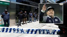 Diego Maradona doctor 'investigated for manslaughter' as Argentine police raid home and clinic