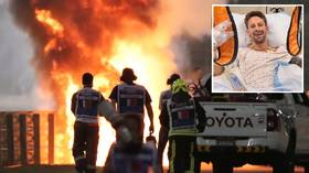 Injured F1 star Grosjean to MISS next Grand Prix as he recovers from brush with death in explosive crash