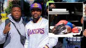 'Casual racism': Fans mystified as Mayweather demands no one black should dare to criticize ex-NBA star Robinson over boxing farce