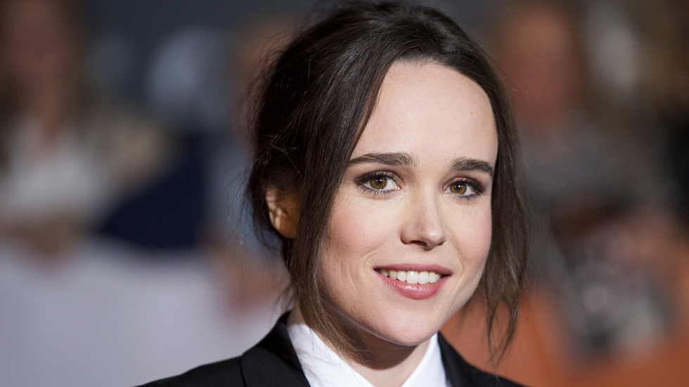 Oscar-nominated actress Ellen Page, star of Netflixs The...