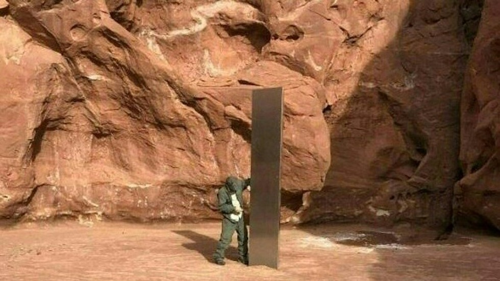 Mysteriously disappeared Utah monolith was STOLEN by...