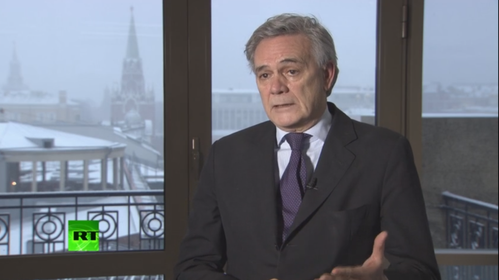EU and Russia 'too interconnected' to be enemies, former Italian ambassador tells RT