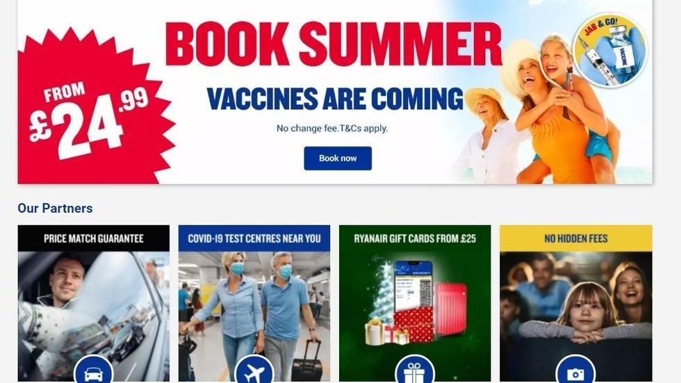 """""""Spritzen & Los!"""" Airline wirbt mit Impfen für die Sommerflüge"""
