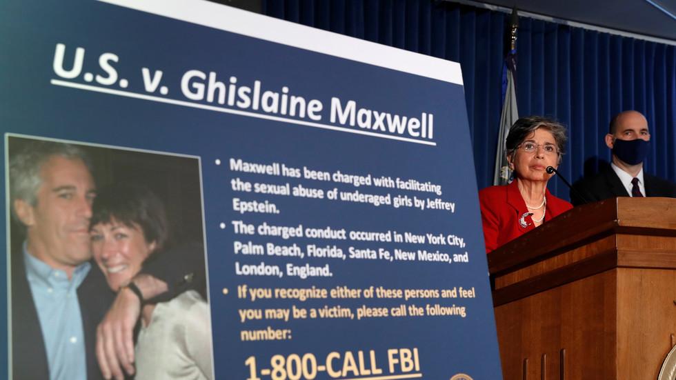 Jeffrey Epstein associate Ghislaine Maxwell denied .5mn bail bond