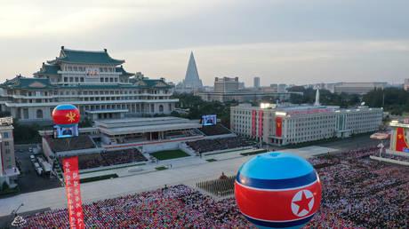 FIlE PHOTO: © KCNA via REUTERS