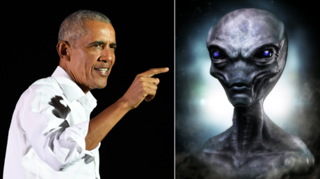 Barack Obama asked what the US government knows about aliens. © Global Look Press; Pixabay