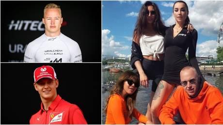Nikita Mazepin and Mick Schumacher will make their Formula 1 debuts with Haas next season. © Global Look Press / Reuters / Instagram @nikita_mazepin