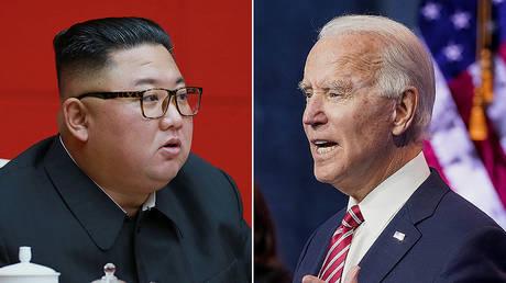 ©  KCNA via REUTERS; © REUTERS/Kevin Lamarque