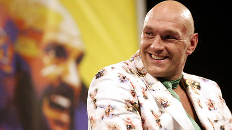 British boxing champion Tyson Fury has rejected the BBC's Sports Personality of the Year in a video © Steve Marcus / Reuters