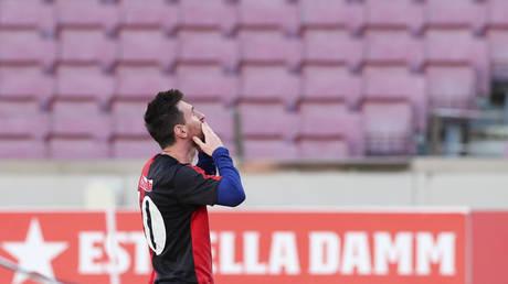 Lionel Messi © REUTERS / Albert Gea