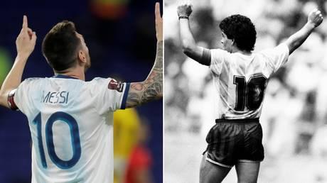 Perfect 10s: Lionel Messi and Diego Maradona