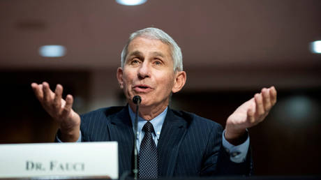 FILE PHOTO: Dr. Anthony Fauci, director of the National Institute of Allergy and Infectious Diseases.