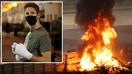 Recounting hell: Formula 1 ace Romain Grosjean