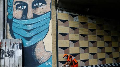 Jakarta, Indonesia, October 2, 2020 © REUTERS/Ajeng Dinar Ulfiana