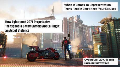 Cyberpunk 2077 — Official Gameplay Trailer © YouTube; (insets) Screenshots from cbr.com, thegamer.com, polygon.com