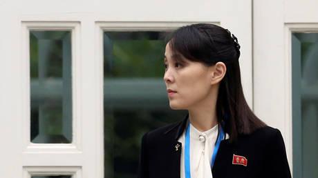 FILE PHOTO. Kim Yo-jong.