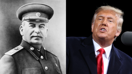 Joseph Stalin and Donald Trump © Wikipedia and Reuters / Jonathan Ernst