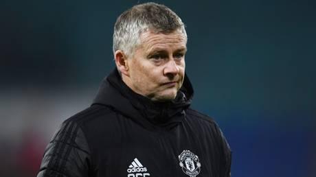 Under pressure: Manchester United boss Ole Gunnar Solskjaer