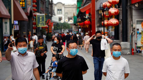 FILE PHOTO: The outbreak of the coronavirus disease (COVID-19), in Beijing