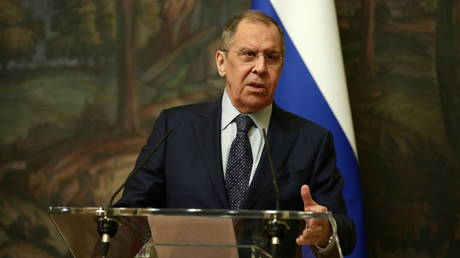 Russian Foreign Minister Sergey Lavrov (December 7, 2020 file photo).