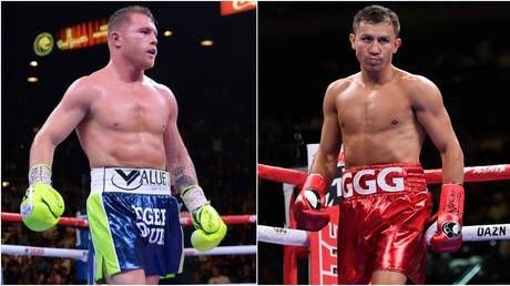 Canelo and Golovkin will be in action within 24 hours of each other. © USA Today Sports / AFP