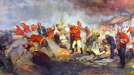 The Defence of Rorke's Drift' by Lady Butler © Universal History Archive/Universal Images Group via Getty Images