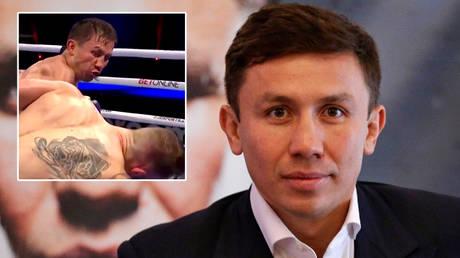 Gennady Golovkin beat Kamil Szeremeta to set up a potential Canelo Alvarez rematch © Twitter / DAZN Boxing | © Action Images via Reuters / Henry Browne / Livepic via Reuters