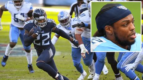 Runaway train: Tennessee Titans running back Derrick Henry has been in unstoppable form