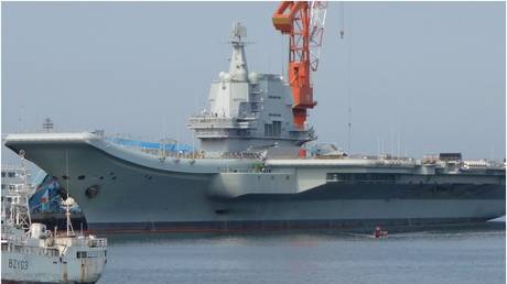 FILE PHOTO: Chinese aircraft carrier Shandong. © Wikipedia.