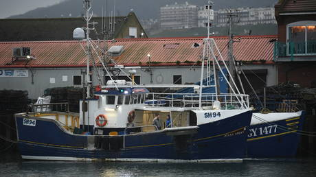 A French fishing vessel