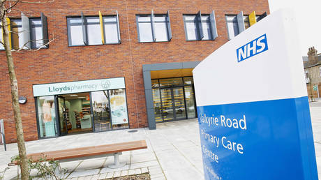 An NHS health center in the United Kingdom.