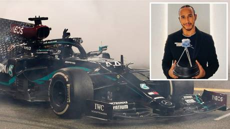 Recovering from COVID: F1 world champion Lewis Hamilton