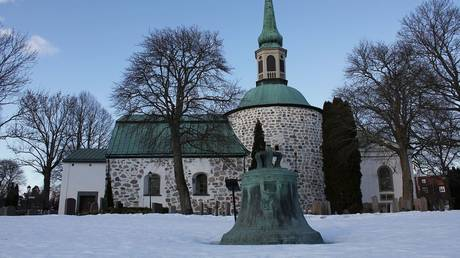 The Bromma church and the Little Bell. ©Jssfrk / Wikimedia