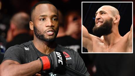 Second setback: Leon Edwards and Khamzat Chimaev have seen their bout halted TWICE