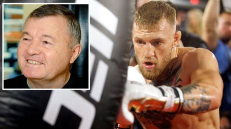 Conor McGregor's striking is on a different level, according to coach Phil Sutcliffe