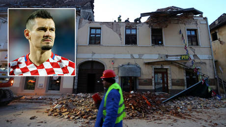 Zenit St. Petersburg's Dejan Lovren has offered support to victims of the Croatia earthquake © Antonio Bronic / Reuters
