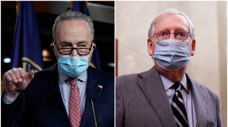 Schumer's 'senior moment' or McConnell's refusal to consider $2K Covid-19 aid checks, which is worse? thumbnail