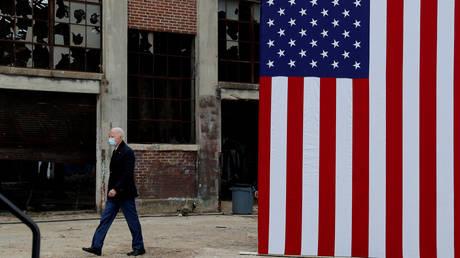 President-elect Joe Biden campaigns for Democrats in Georgia, December 15, 2020.