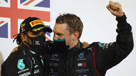'He was quite close': Fears for rival drivers as F1 champ Hamilton's tilt at extending records is halted by positive Covid-19 test