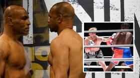 Joshua lands BRUTAL KO win against Pulev – but Fury says 'big bum dosser' is 'sh*tting himself' over unification fight (VIDEO)