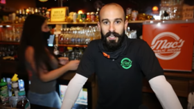 New York bar owner who declared his tavern an AUTONOMOUS ZONE, defying Covid-19 orders, is arrested for serving customers
