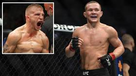 The champ fires back: T.J. Dillashaw criticizes Petr Yan for being 'interim' champion, but Yan slams 'CHEATER' in response (VIDEO)