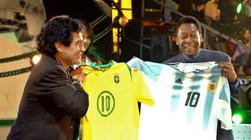 'I love you, Diego': Brazilian football legend Pele leaves emotional message to late friend Maradona