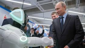 Artificial intelligence for president? I hope not, says Putin, after digital assistant Athena enquires about having his job