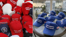 Goodbye MAGA, hello... Blue MAGA? Dem ripoff hats repulse even liberals